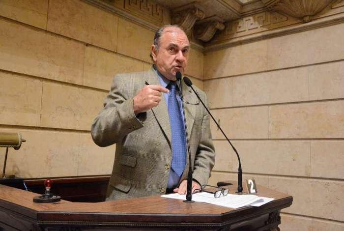 Ex-prefeito Cesar Maia e atual vereador do Rio (DEM)