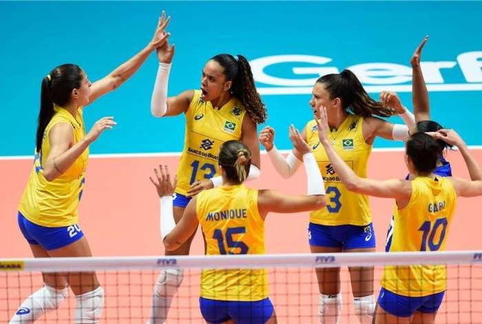 Brasil venceu a Turquia por 3 a 1