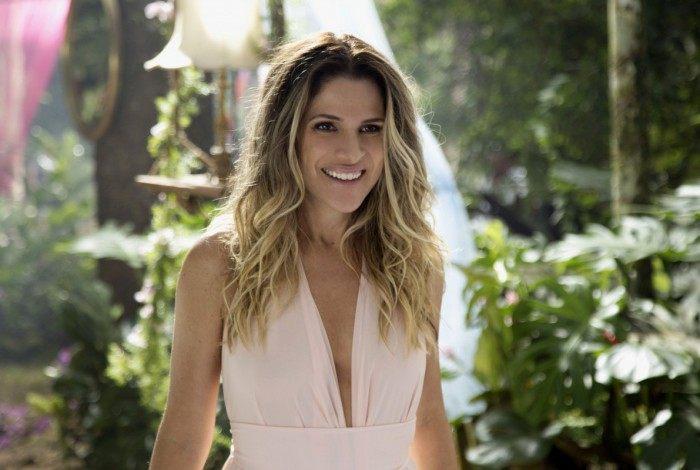 Ingrid Guimarães nos bastidores de 'De Pernas Pro Ar 3'