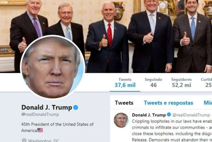 Trump é impedido de bloquear críticos em sua página no Twitter