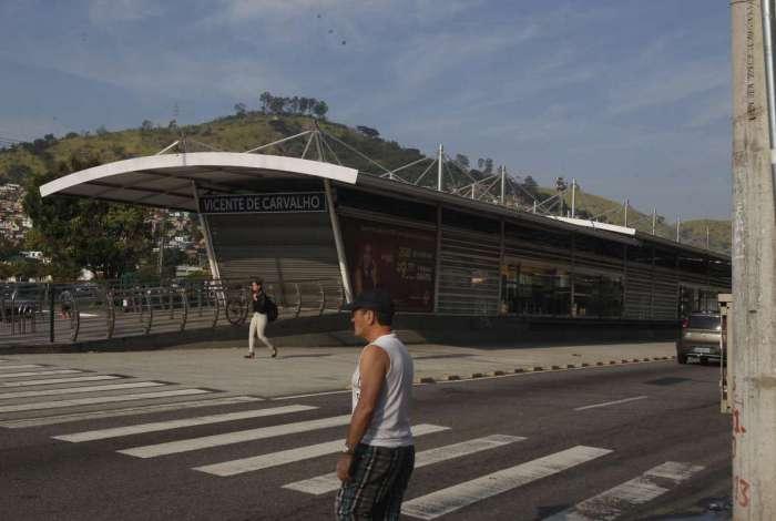 BRT fechou 50% das estações