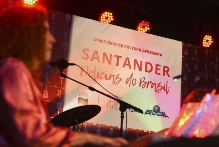 Abertura do evento Santander Del�cias do Brasil