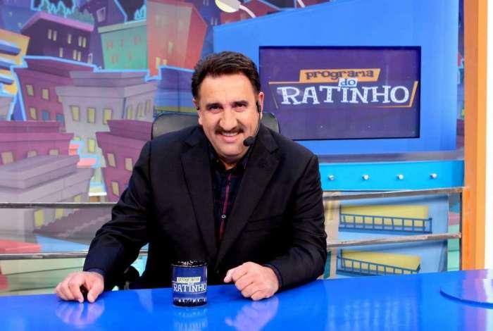 Ratinho, apresentador do 'Programa do Ratinho', do SBT
