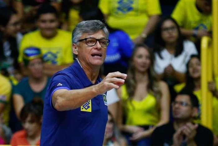 Renan Dal Zotto comanda a Seleção masculina de vôlei pelo segundo ano