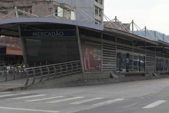 Estação do BRT Mercadão