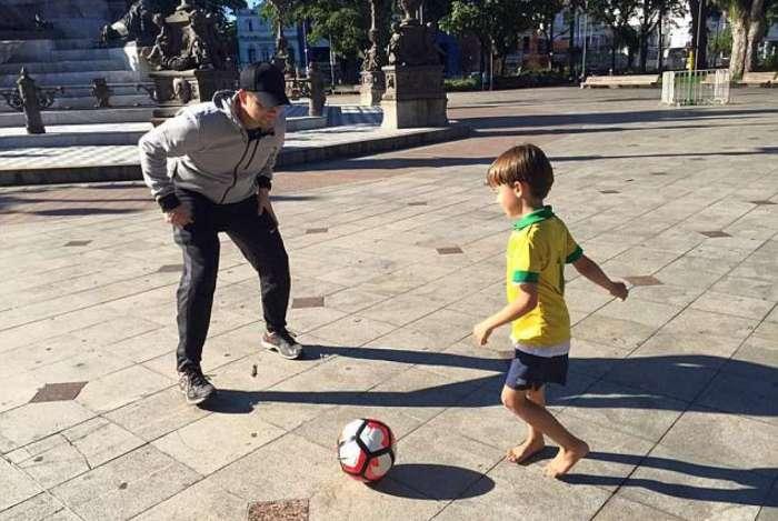 Marcelle Guimarães levou o filho de três anos para o Brasil em 2013 sem a autorização do médico de Houston Chris Brann, pai da criança. Os dois haviam se divorciado em 2012