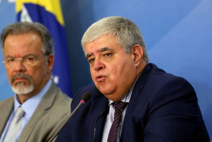 Ministro da Secretaria de Governo, Carlos Marun, fala sobre For�as Armadas garantir o abastecimento