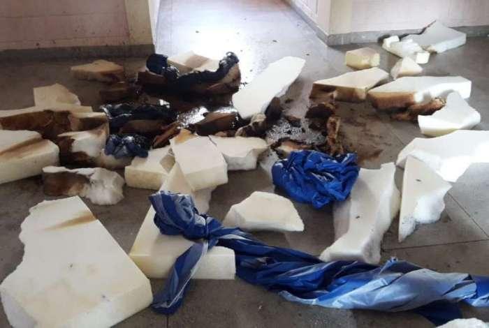 Internas incendiaram colchões em unidade do Degase