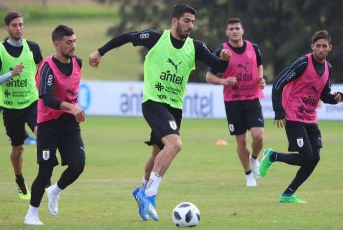Suárez é uma das esperanças de gol do Uruguai na Rússia