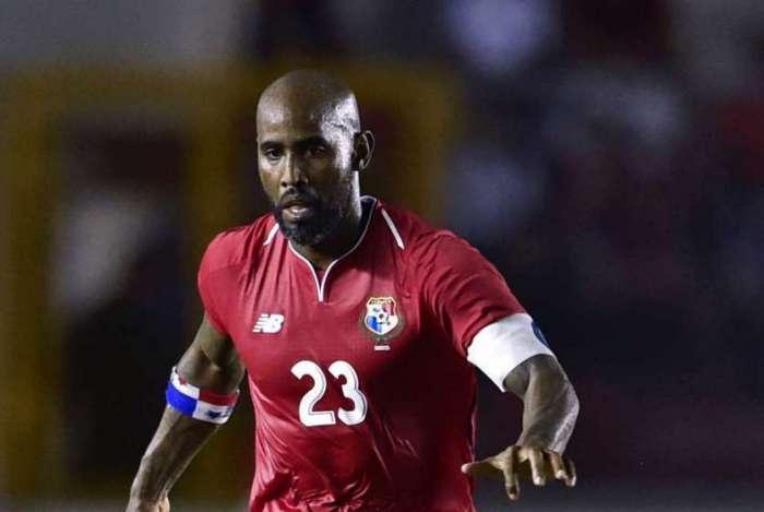 Baloy, zagueiro da seleção do Panamá