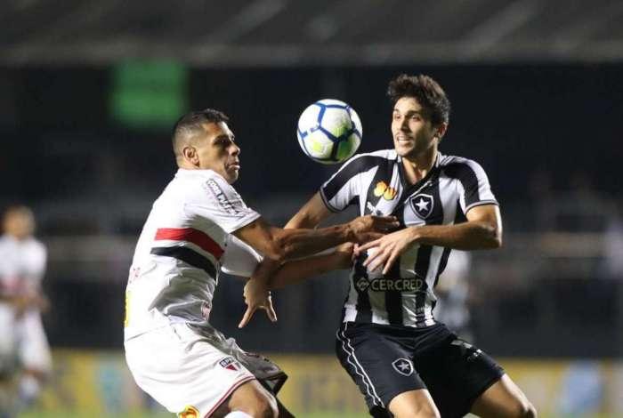 78070551a1 Confira as notas do time do Botafogo na derrota no Morumbi O Dia ...