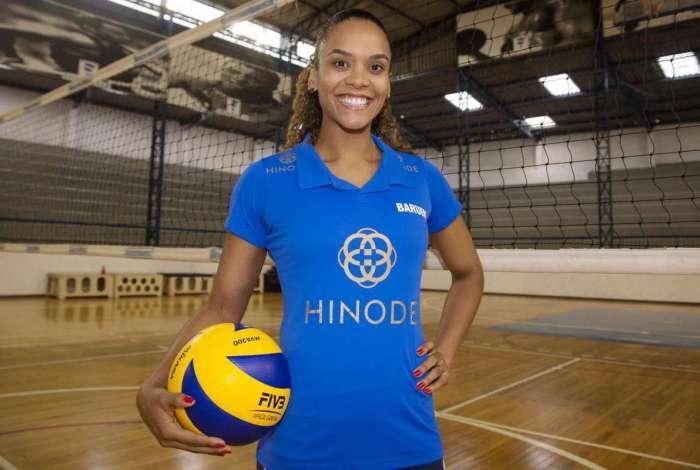 A ponteira Amanda é a nova contratação do Hinode Barueri (SP)