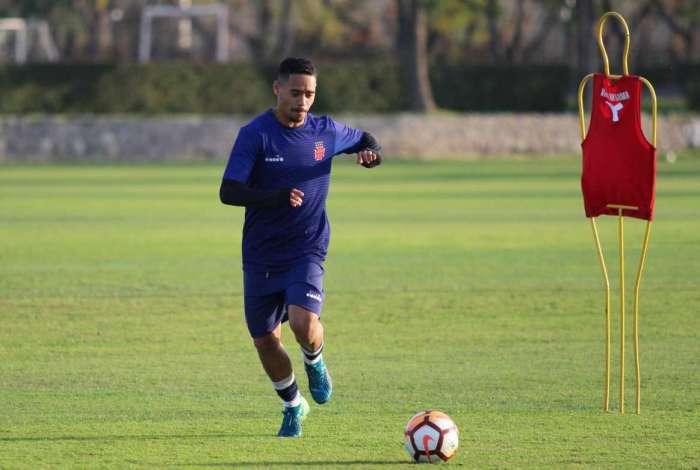 Yago Pikachu � o artilheiro no Vasco nesta temporada com 11 gols