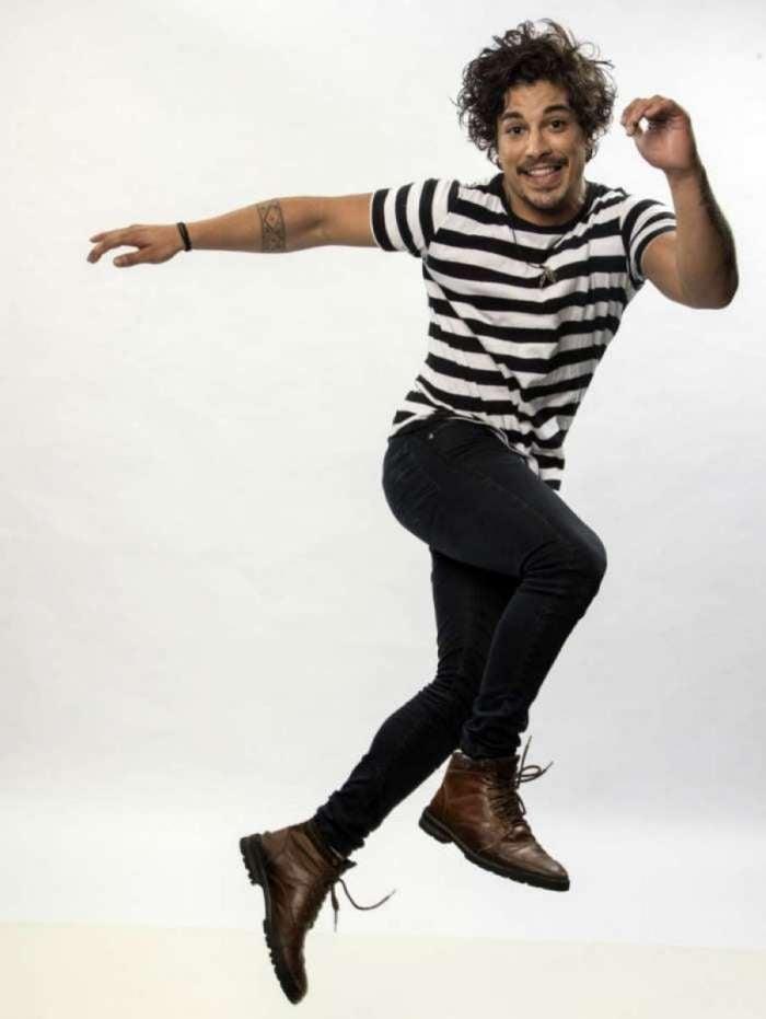 Douglas Sampaio no 'Dancing Brasil 3'