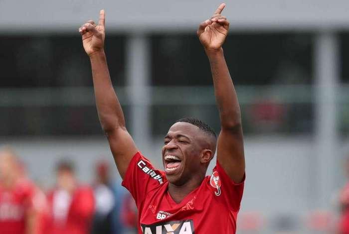Vinicius Junior, atacante do Flamengo