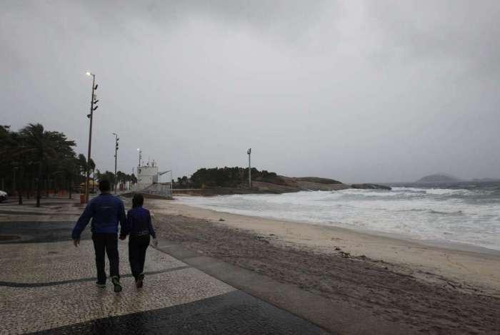 Rio tem previsão de chuva a partir desta quarta