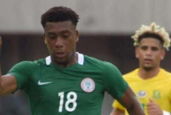 Alex Iwobi est� garantido entre os 23 da Nig�ria na Copa do Mundo