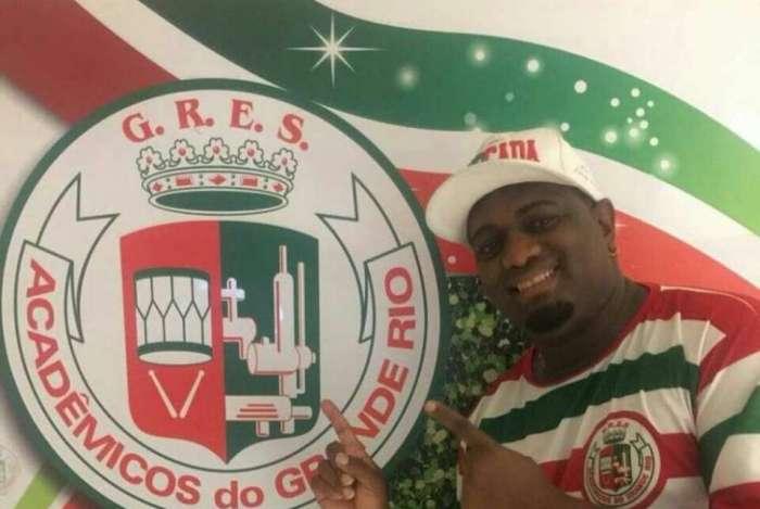 Evandro Malandro � o int�rprete oficial da Grande Rio