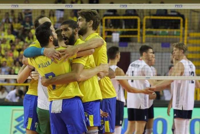Brasil venceu os EUA num jog�o em Goi�nia
