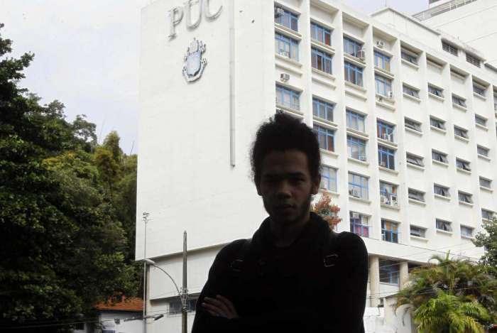 Estudante da PUC-Rio, Leonne Gabriel recebeu carta de cunho racista dentro de sala de aula