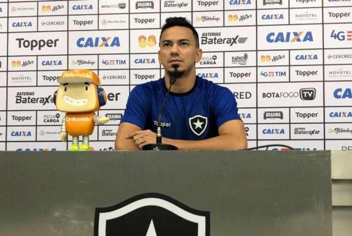 Lindoso falou sobre o atual momento do Botafogo