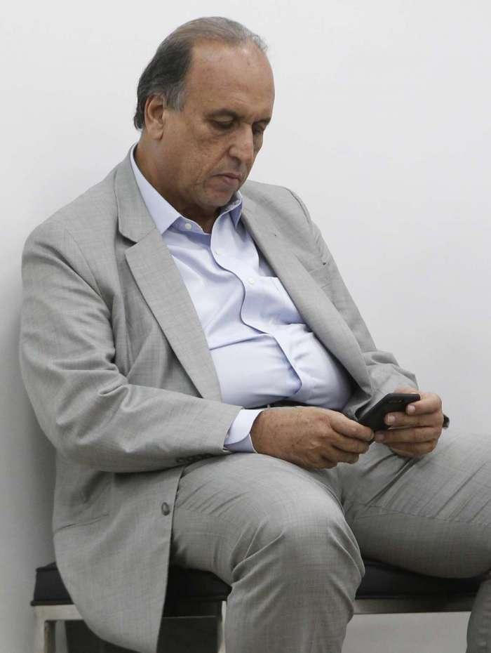 O governador Luiz Fernando Pezão