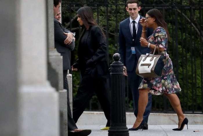 Kim Kardashian se reuniu com o presidente Donald Trump na �ltima quinta-feira, na Casa Branca