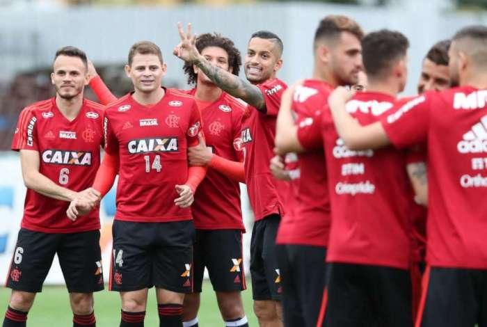 O rubro-negro vai encarar o Cruzeiro pelas oitavas da Libertadores