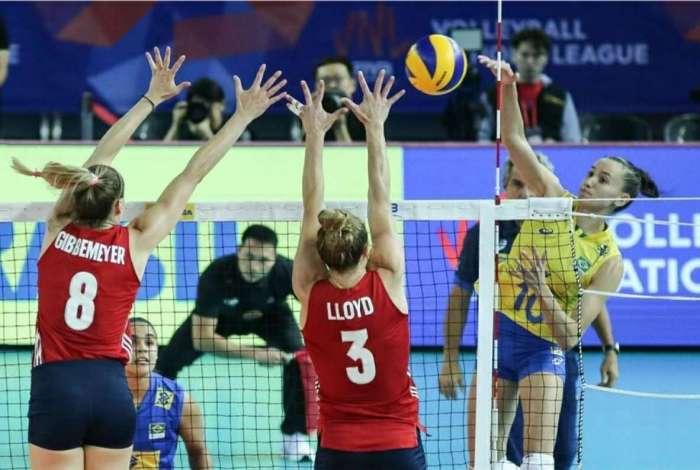 Brasil � derrotado pelos Estados Unidos na Liga das Na��es