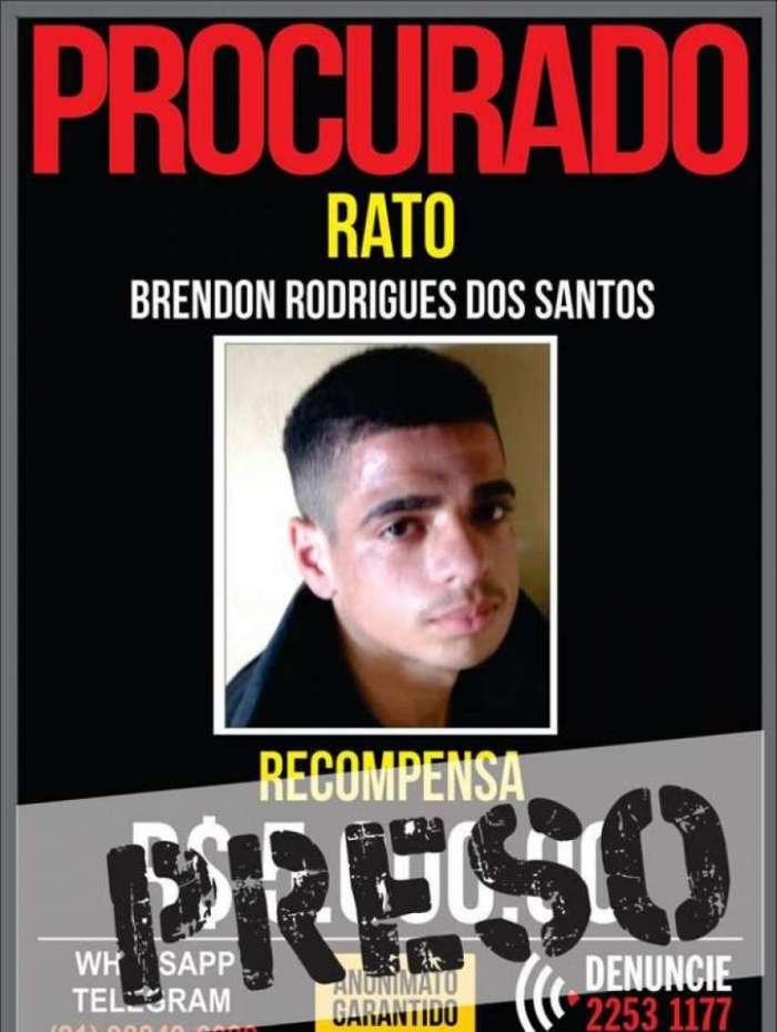 Brendon foi preso no Jacar�