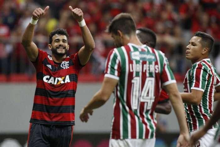 Flamengo venceu o Fluminense em Brasília