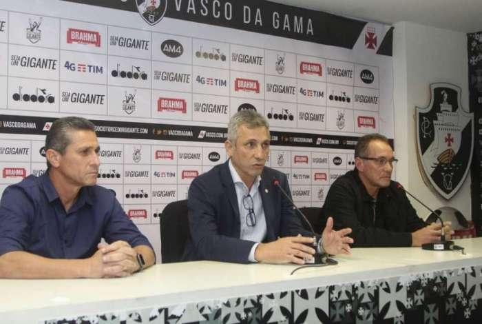 Jorginho e PC Gusm�o foram apresentados pelo Vasco