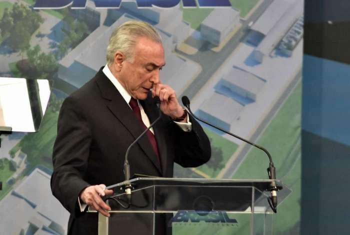 Ex-presidente Michel Temer é acusado de liderar quadrilha criminosa