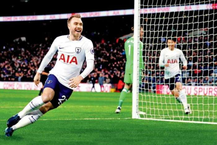 Christian Eriksen, do Tottenham, � o principal nome da Dinamarca