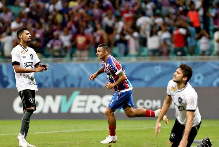 Bahia e Botafogo ficaram no empate na Arena Fonte Nova