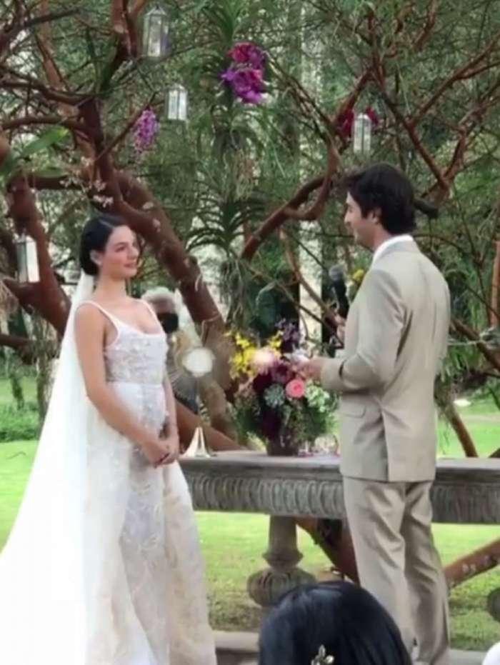 Casamento de Isis Valverde e Andr� Resende