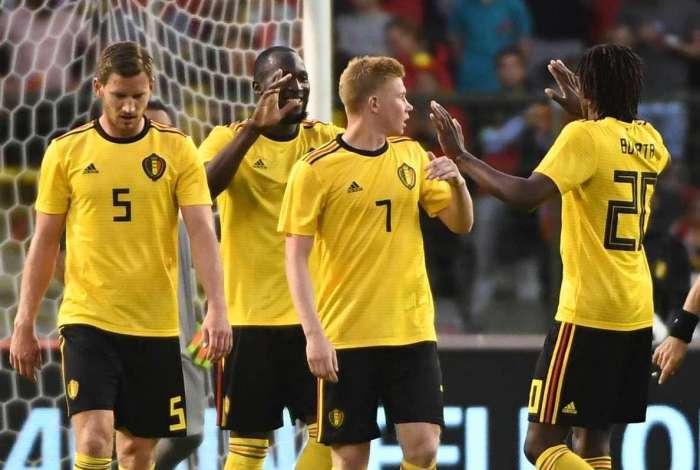 B�lgica derrotou a Costa Rica por 4 a 1