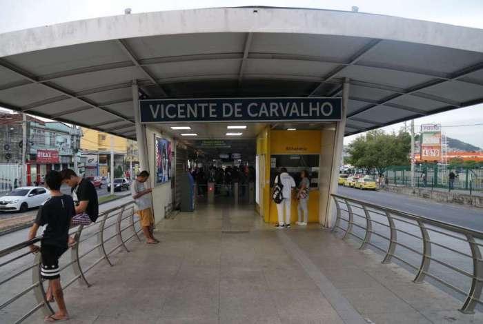 Corredor estava parado de Madureira até o Galeão