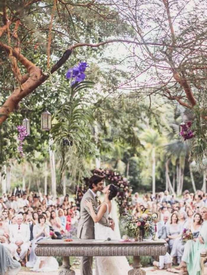 Isis Valverde e Andr� Resende se casaram no Rio