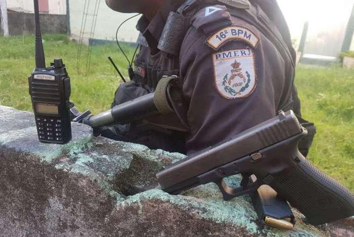 Equipes realizavam operação para reprimir o crime na região