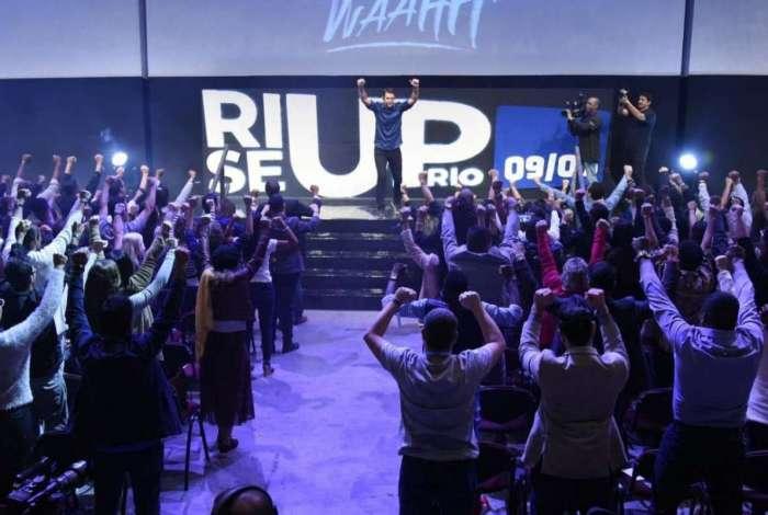 Evento organizado por Marcelo Crivella Filho no Riocentro trouxe hist�rias de supera��o