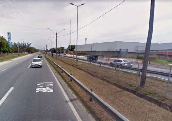 Rodovia Niterói-Manilha (BR-101), na altura de São Gonçalo