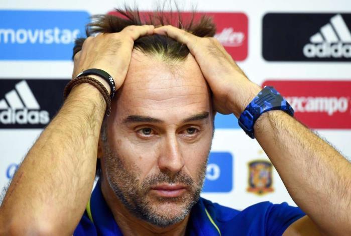 Invicto no comando da F�ria, Lopetegui foi demitido a dois dias da estreia na Copa do Mundo