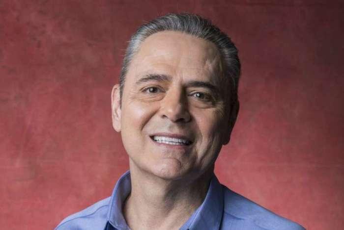 O narrador Luis Roberto, da Globo -  Copa do Mundo 2018