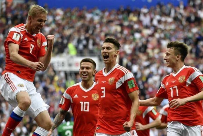 Rússia derrotou a Arábia no primeiro jogo da Copa