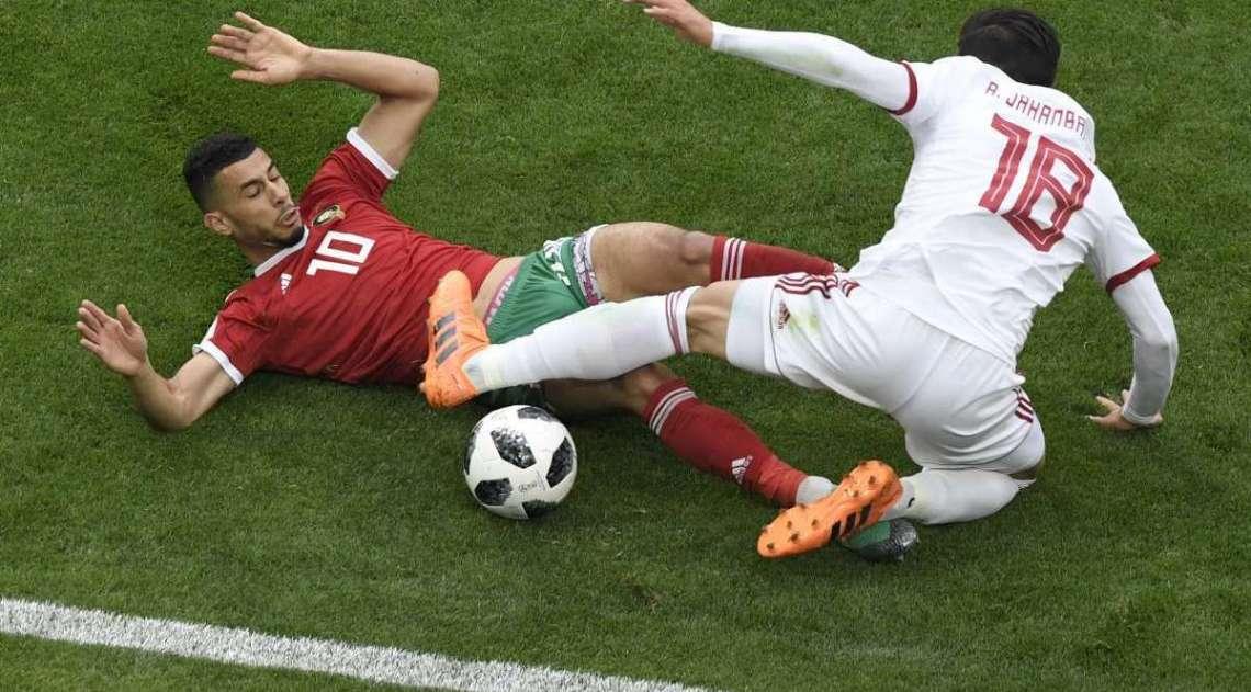 Marrocos e Ir� fizeram um jogo de baixo n�vel t�cnico