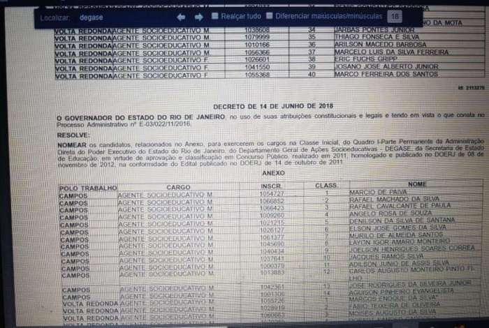 Nomeações saíram no Diário Oficial desta sexta-feira