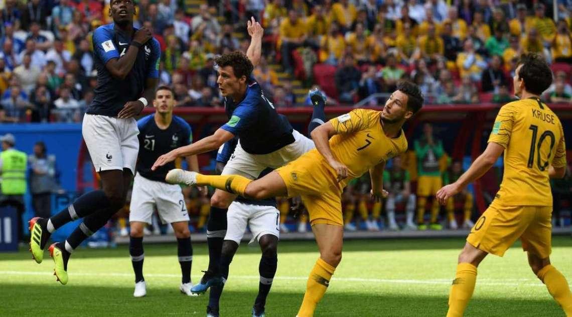 Fran�a e Austr�lia duelaram em jogo v�lido pelo Grupo C neste s�bado