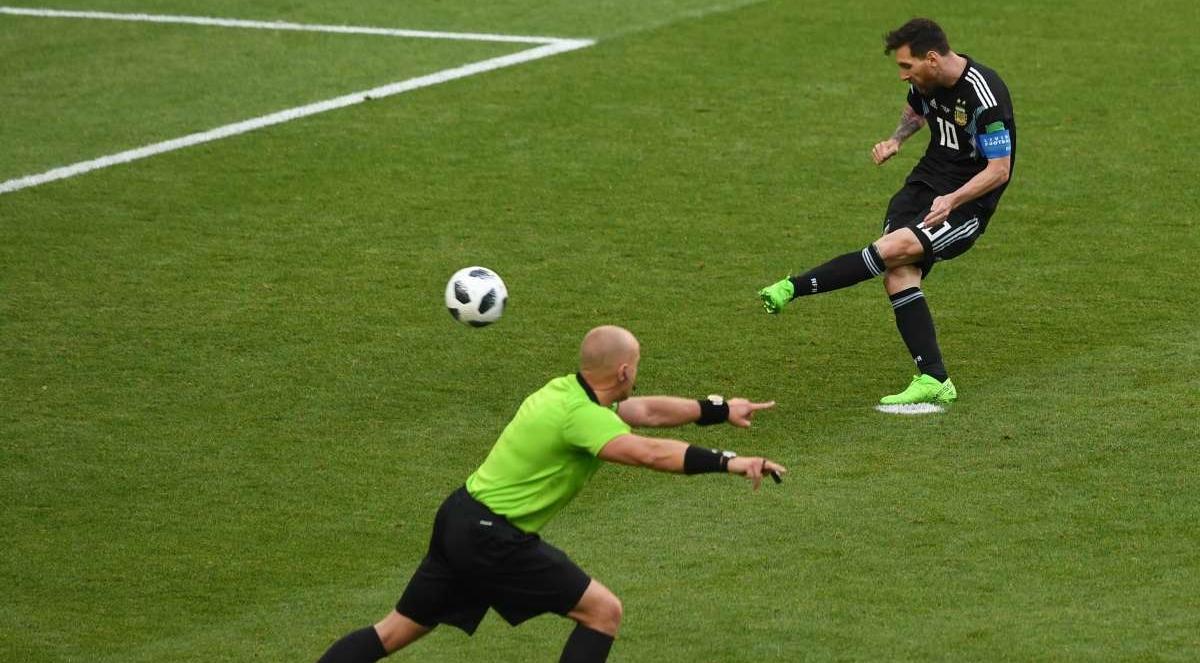 Argentina e Islândia se enfrentaram em jogo válido pela primeira rodada do Grupo D