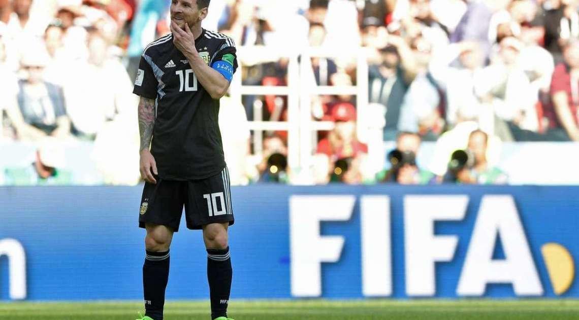 Argentina e Islândia empatam em jogo válido pela primeira rodada do Grupo D